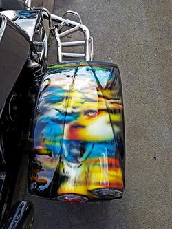 trike-loup-peinture-personalisee