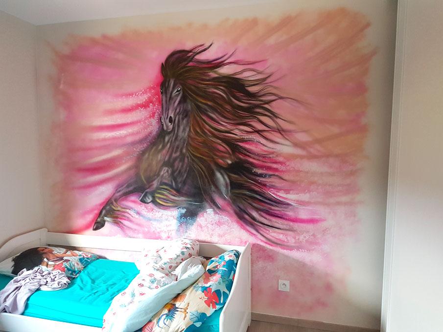 Graff Mur 'Cheval'