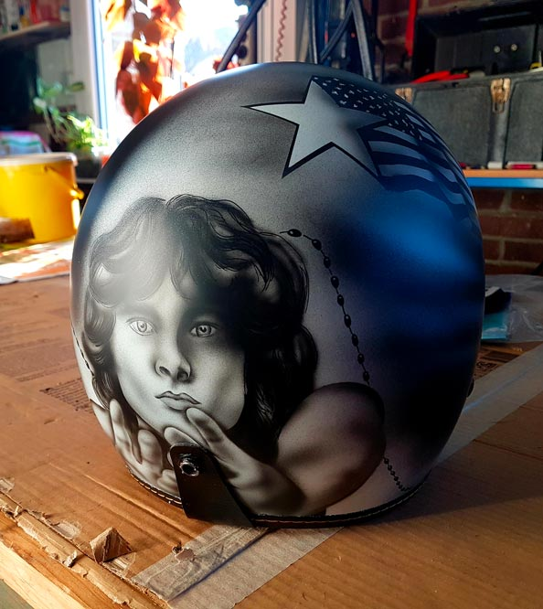 Casque Jet Jim Morrison