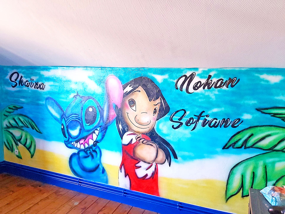 Graff Stitch Disney