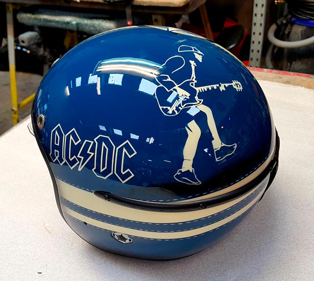 Casque Jet AC DC