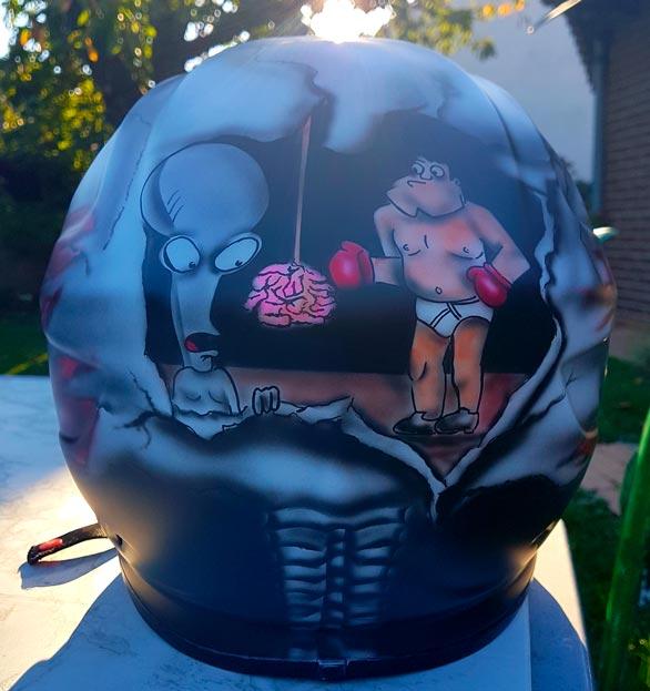 Casque Peinture Helmet