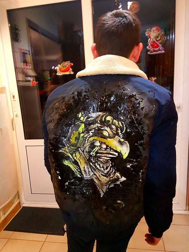 Manteau personnalisé
