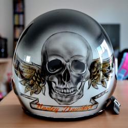 Casque Skull Harley Personnalisé
