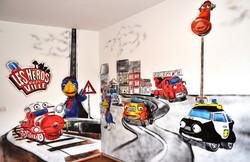Graff chambre d'enfant