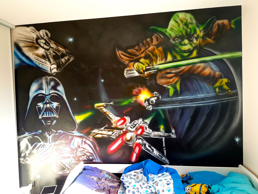 Mur Graff Star Wars