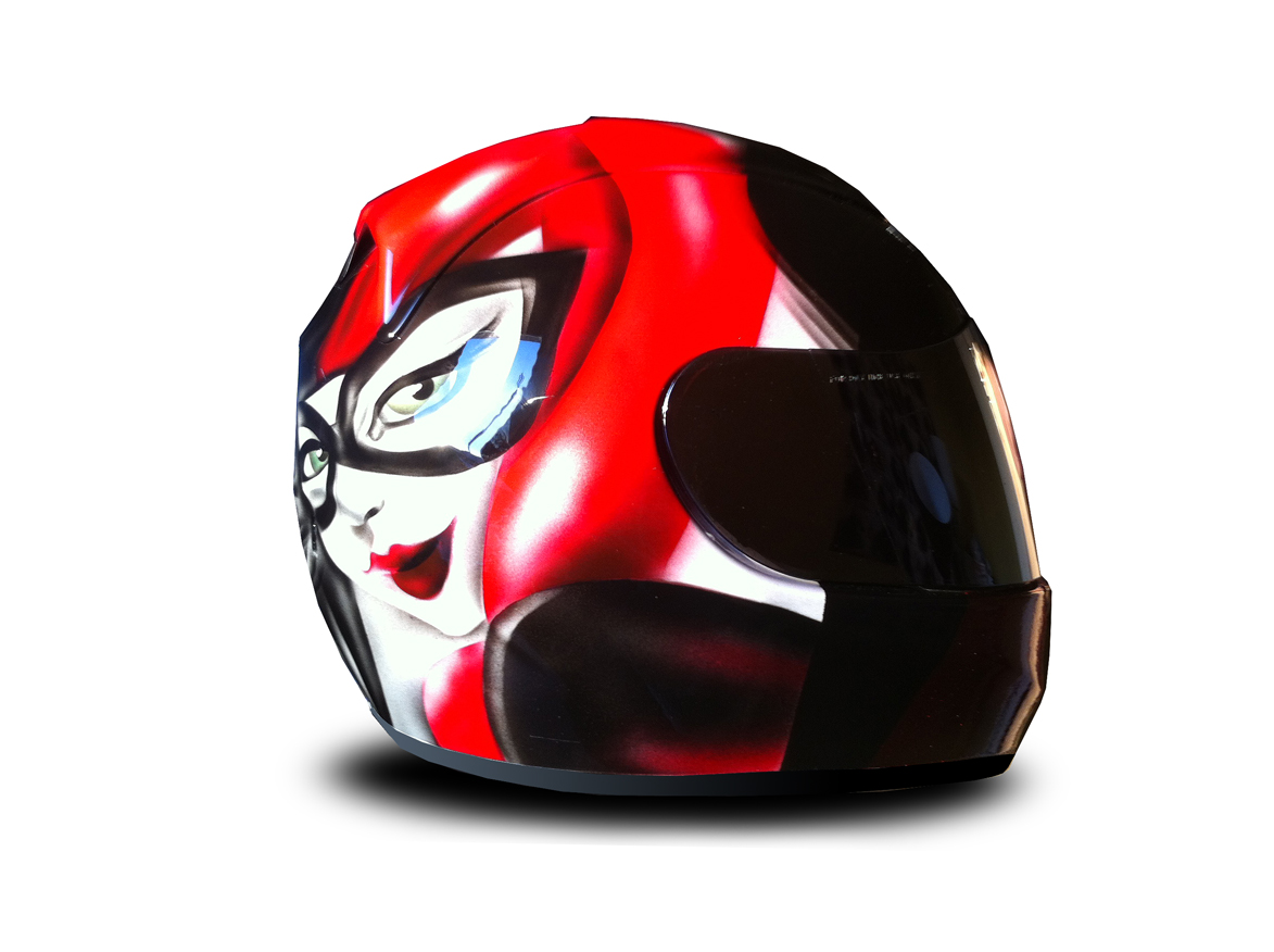 Casque profil Harley Queen