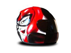 Casque profil Harley Queen