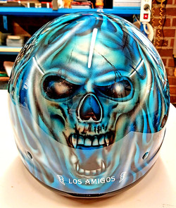 Casque modulable personnalisé skull