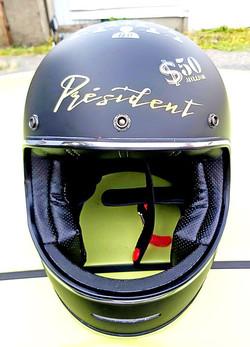 """Casque """"président Moto Blouz"""""""