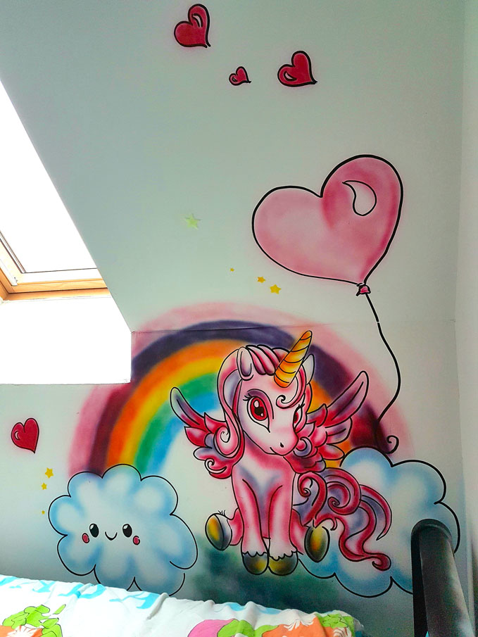 Graff Mur Licorne