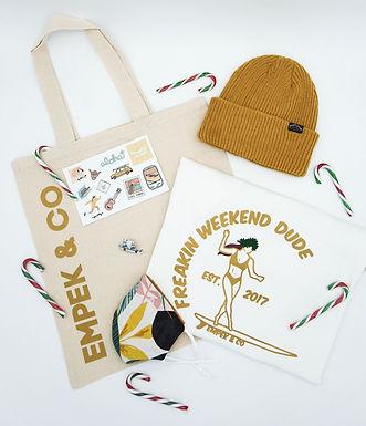 «weekend» gift box
