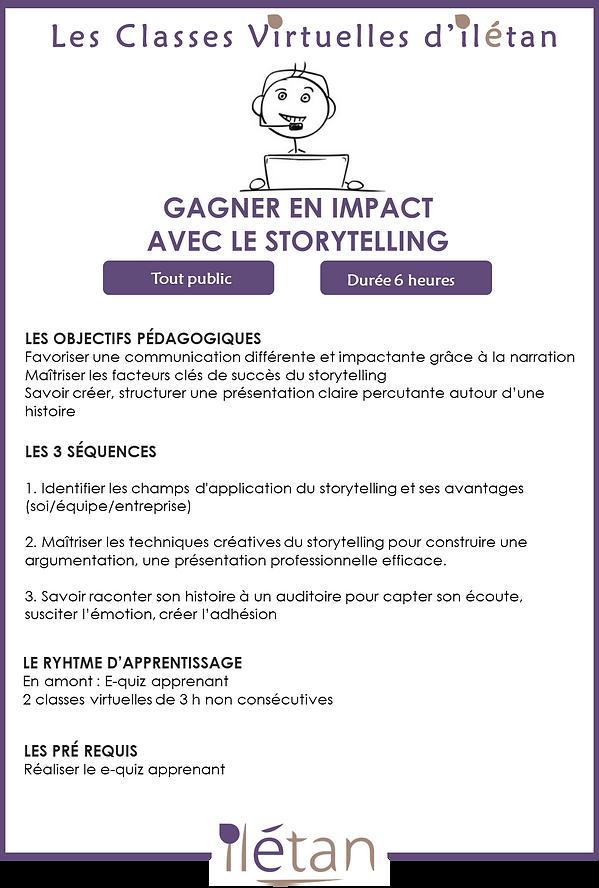 Storytelling INTRA