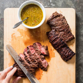 Grilled Mojo - Marinated Skirt Steak