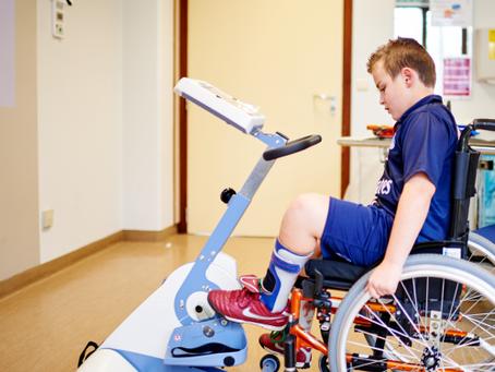 Ontwikkeling fietsgame voor kinderen met cerebral palsy