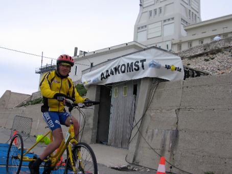 Gino op de Mont Ventoux