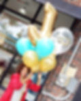 TAW! Boutique Balloon Collection:  Jumbo Bouquet with Personalized Balloons