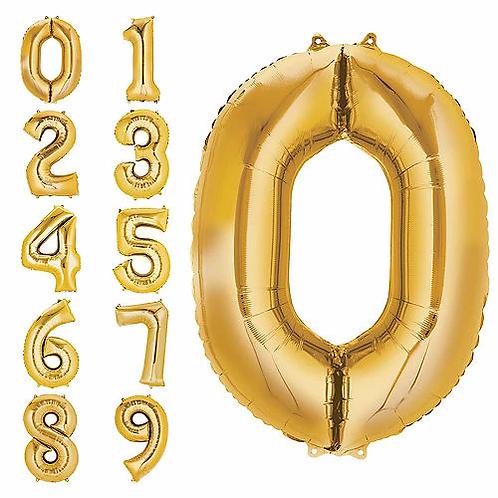 "34"" GoldNumbers"