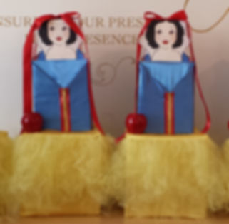 Snow White Themed Centerpieces