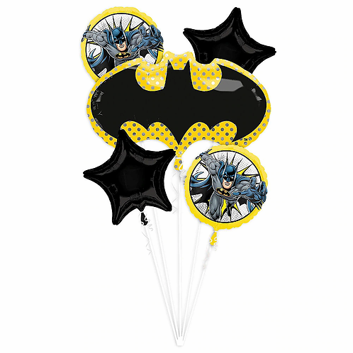Batman  5 Pc Balloon Bouquet