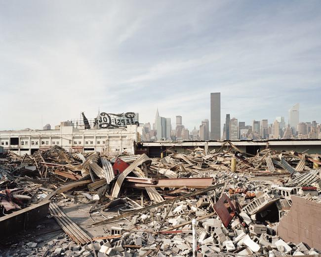 Remains of the former Pepsi-Cola bottlin