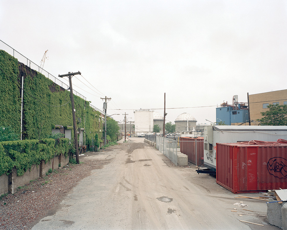 End of North Henry Street, Greenpoint, B