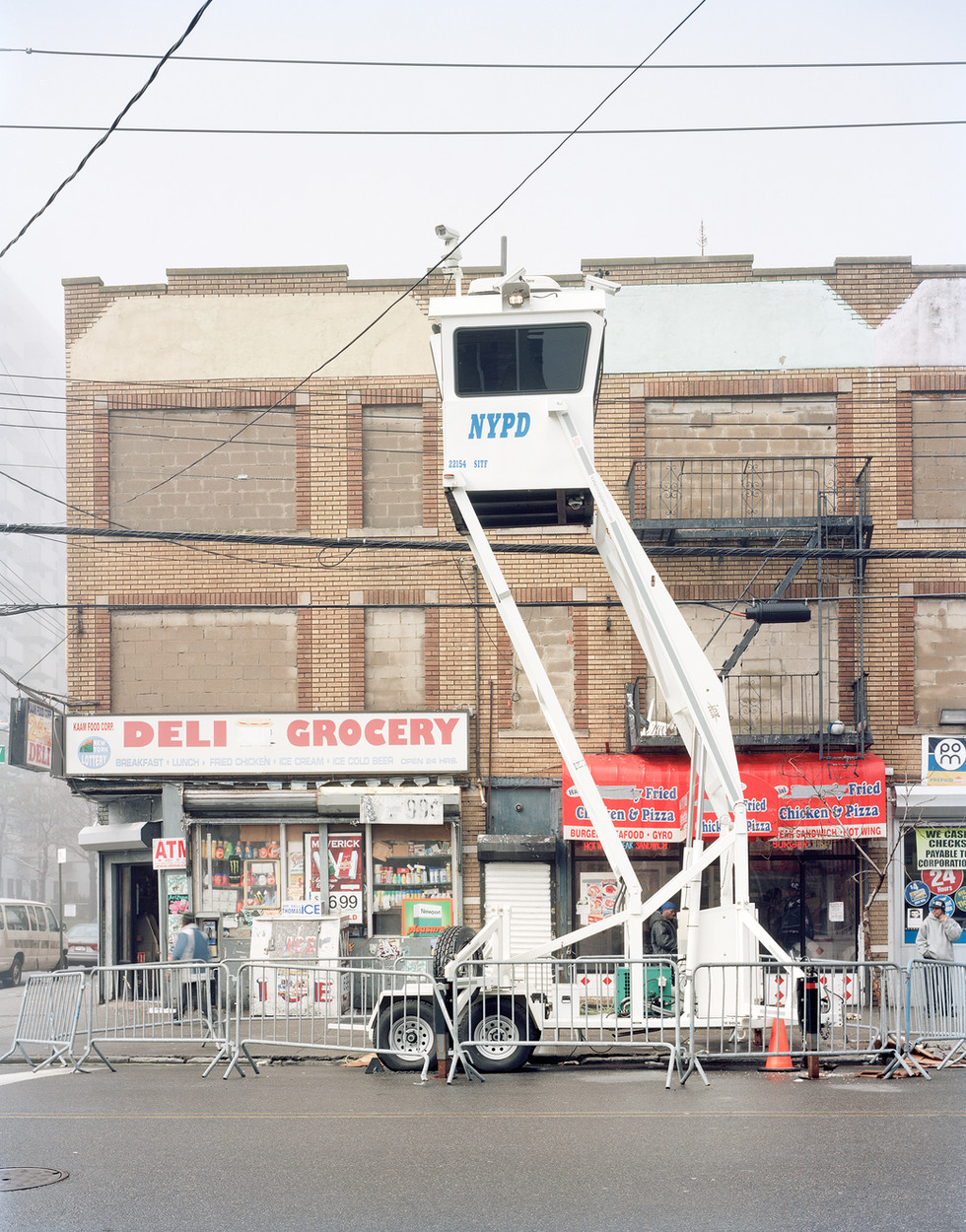 NYPD Mobile Utility Surveillance Tower.j