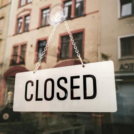 Building Closures - March 2020