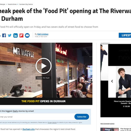 National Coverage of The Food Pit
