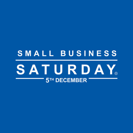 Supporting Small Business Saturday