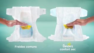 PAMPERS BRAZIL : Confort Sec