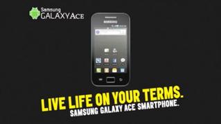 SAMSUNG : Galaxy ACE - Live Life