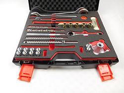 Hartschumeinlage für Werkzeuge