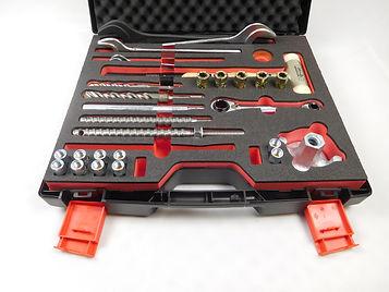 Hartschaumeinlage für Werkzeuge