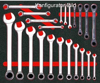 Shadowboard Konfigurator | Hatschaumeinlage | Werkzeugeinlage