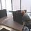 Thumbnail: 12 Tischtrennwände BRAINCASE Small 610x495x45mm in schwarz aus PE