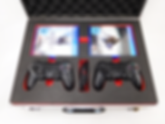 Playstation PS4 Koffer mit Schaumeinlage