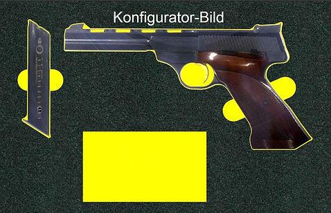 Koffer mit Hartschaumeinlage für Pistole Konfigurator Bild