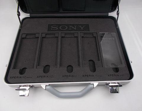Shadowboard / Hartschaumeinlage al Musterkoffer für Sony