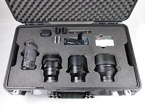 Schaumstoffeinlage für Kameras