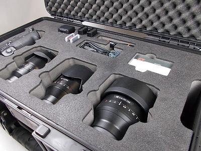 Schaumstoffeinlage für Fotoausrüstung
