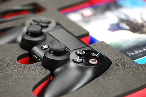 2 gefräste Schaumeinlagen für Playstation PS4*