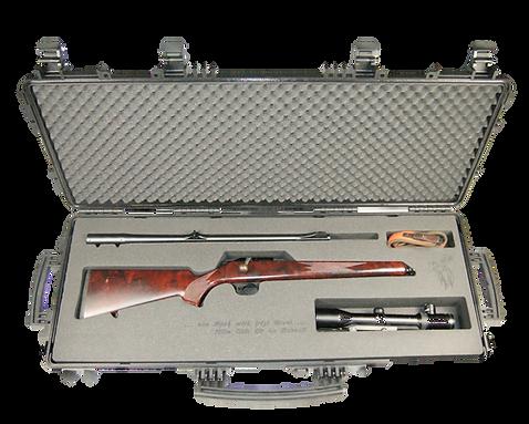 Waffenkoffer Schaumeinlage Gewehr