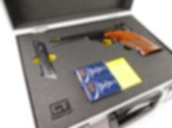 Koffer mit Hartschaumeinlage für Pistole