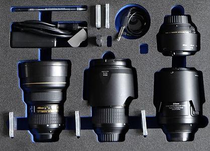 casefoam Hartschaumeinlage für Fotokoffer