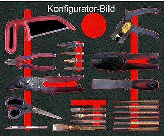 Konfigurator Werkzeugaufbewahrung