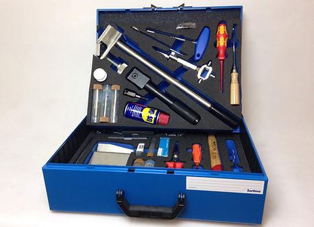 Schaumstoffeinlage / Shadowboard in Sortimo Box