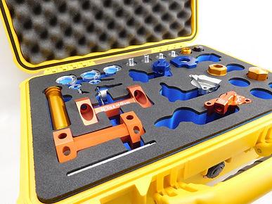 Werkzeugeinlage mit Peli-Koffer