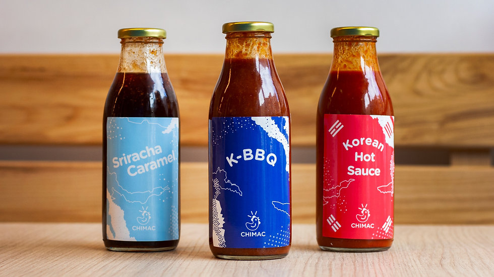 Chimac 500ml Sauces Three Pack