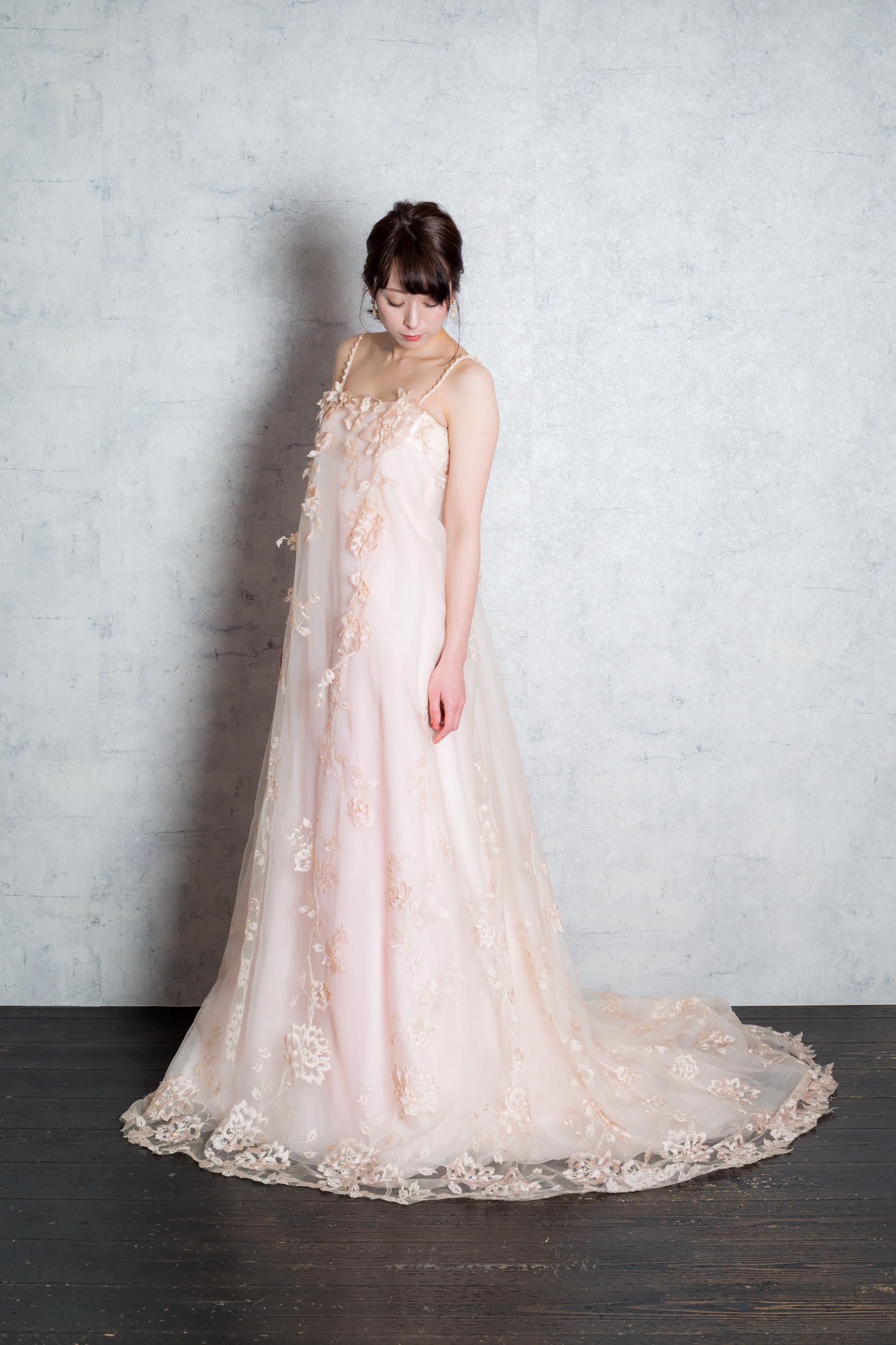 エンパイアカラードレス